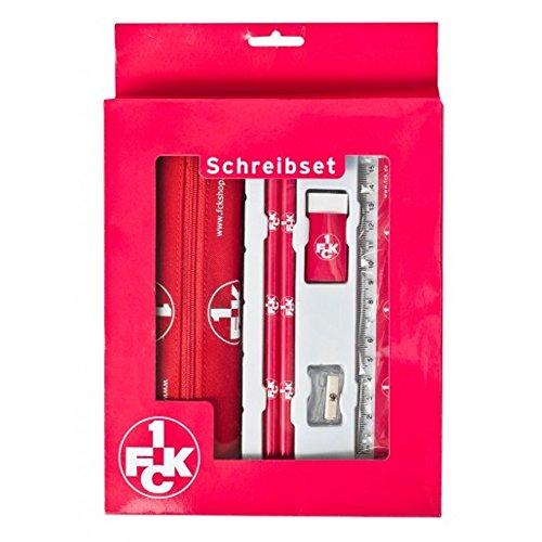 1. FCK - Schreib Set - 6 Teile in attraktiver Geschenk - Box - 1. FC Kaiserslautern