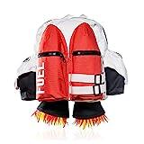 SUCK UK Jetpack Rucksack (Kinder) Children's Backpack, 45 cm, Red (Rot-Weiss)