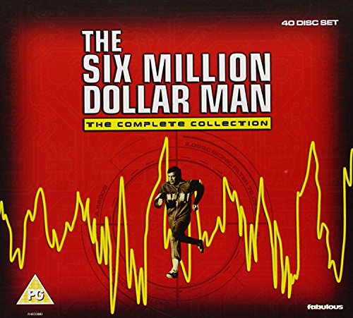 The Six Million Dollar Man - The Complete Collection (40 Discs) DVD or Blu-Ray