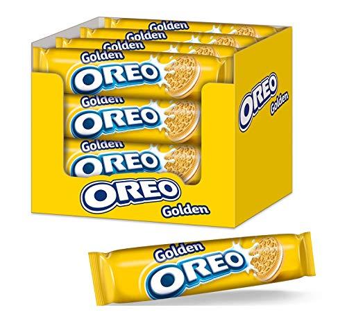 OREO Golden 16 x 154g – Doppelkeks mit veganer Crème-Füllung