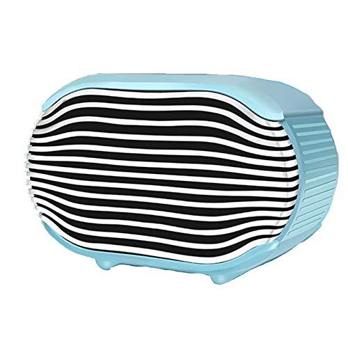 Calentador eléctrico portátil pequeño, calentador inteligente de temperatura constante, calentamiento rápido en 3 segundos, protección de seguridad, adecuado para el hogar,Azul