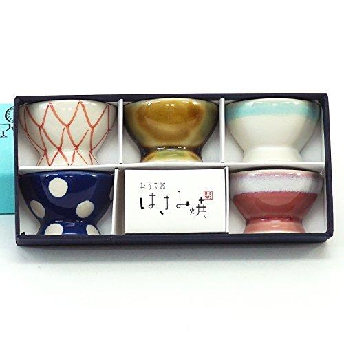 波佐見焼 くらわんか碗 箸置ファイブ (化粧箱入) 52617