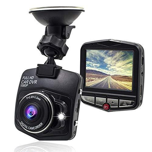 Domeilleur Full HD 1080P 2.2Inch Voiture DVR Enregistreur Vidéo Vision Nocturne Détection de Mouvement Boucle Enregistrement Parking Moniteur et G-capteur Dash Cam Caméra Voiture Conduite Auto