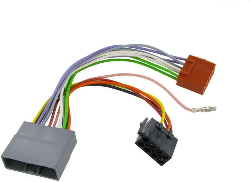 amazon.com: wiring harness adapter for honda civic 2006- iso stereo plug  adaptor : electronics  amazon.com