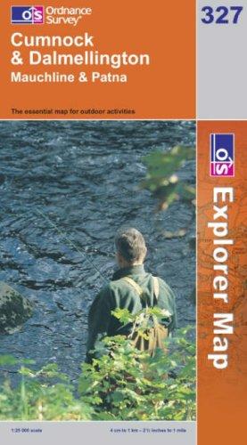 OS Explorer map 327 : Cumnock & Dalmellington