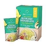 (Pack of 10) DIET COOKER Premium Konjac Noodles, Shirataki Noodle, Keto & Vegan Friendly, 9.52 oz, Odor Free, Pasta Weight loss, Low Calorie, Zero Net Carbs, Healthy Diet Food - Oat Fettuccine