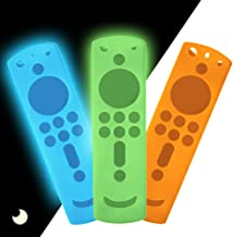 3 Pack TV Remote Case for Fire TV Stick 4K, Silicone Protective Remote Cover Shockproof Remote Controller Skin Fire TV Rem...