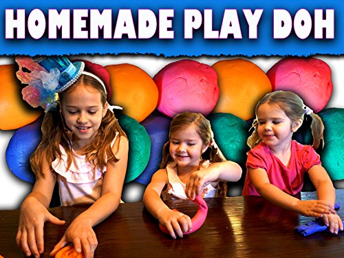 How to make Easy Homemade Play Doh / No Cooking