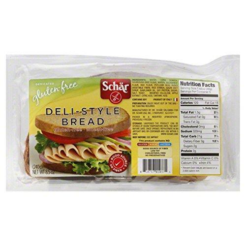 Schar: Deli-Style Bread Gluten Free, 8.5 oz7