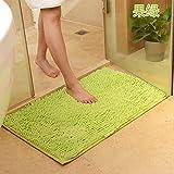 Multi-Color Verdickung Wohnzimmer Teppich Tür Matte Bad Tür Saug Pad, 40 * 60 cm,Obst grün