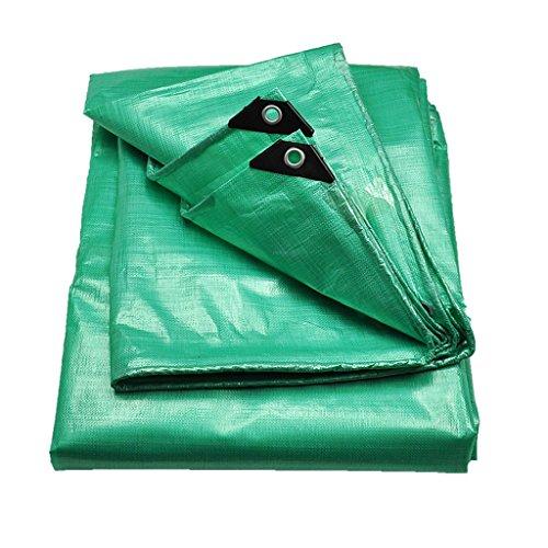 Bâches de protection Bâche épaisse extérieure Imperméable à l'eau Pare-Soleil Tissu Pluie auvent Camion Ombre Tissu Toile Anti-UV (Color : Green, Size : 200cm*300cm)