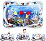 ShengRuHai Wassermatte Baby, Wasserspielmatte BPA-frei, Baby Spielzeug 3 6 9 12 Monate, Baby Aufblasbare Spielmatte für Baby Spaßaktivitäten