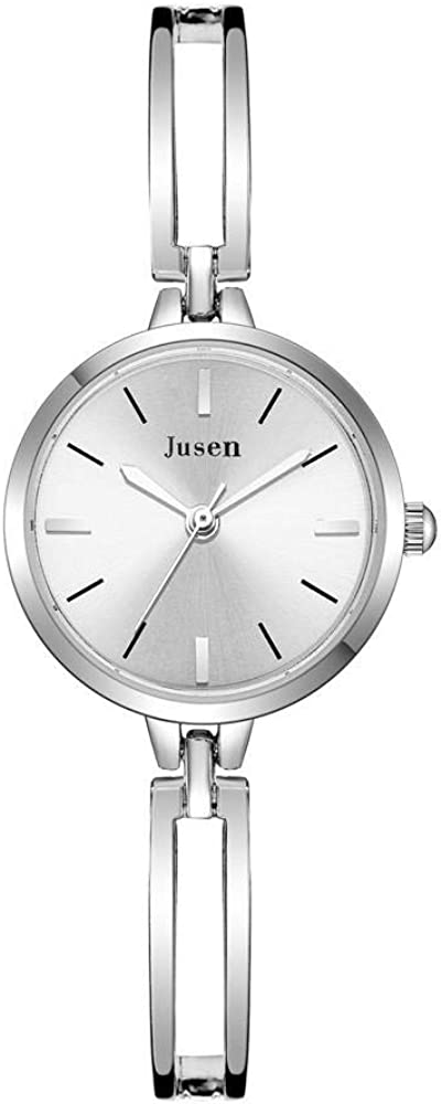 Reloj de Regalo Reloj de Cuarzo Tendencia Novias dial pequeño Reloj Femenino Estudiante Estudiante Correa de Acero Pulsera Reloj