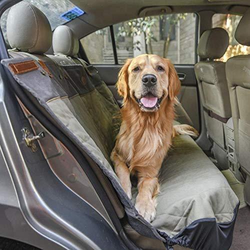 TTXP Manta Perro Pequeño Gris Fundas Coche Perros para Automóviles, Camiones y SUV