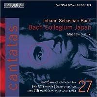 Bach: Cantatas, Vol 27 (BWV 80, 5, 115) /Bach Collegium Japan * Suzuki