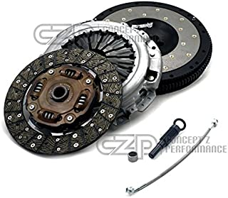 Jim Wolf Technology L3507-NCHRO-KTB Clutch / Flywheel Combo Kit Pack w/ Free Bonus SS Clutch Line - Nissan 350Z Z33 07-08 / 370Z Z34 09+, Infiniti G35 V35 07-08 / G37 V36 08+