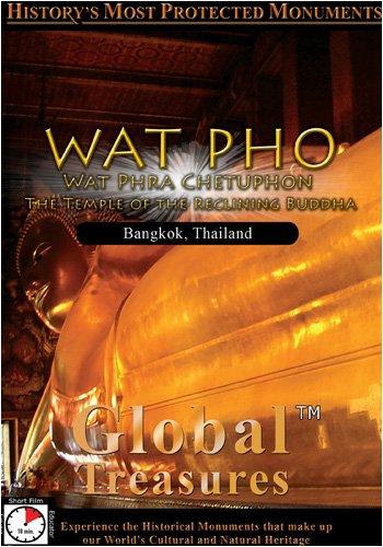 Global Treasures WAT PHO Wat Phra Chetuphon The Temple of the Reclinning Buddha Bangkok, Thailand