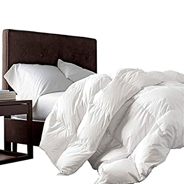 Super King Oversized California King Down Alternative Comforter (120  x 98 ) 116 Ounces of Fill
