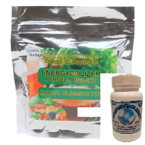 Energybolizer Perfect Weight Herbal Slimming Tea And Advanced Weight Loss Combo