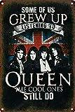Queen Rock Metall Zeichen Poster Wandtafel Blechschilder