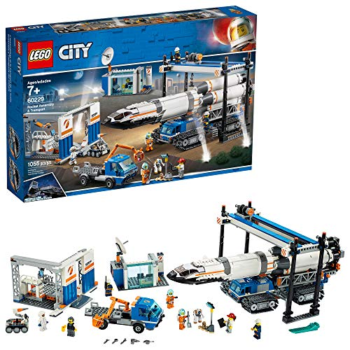 LEGO City Rocket Assembly & Transport 60229 Building Kit (1055 Pieces)