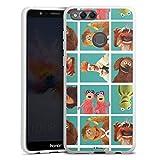 DeinDesign Coque en Silicone Compatible avec Huawei Honor 7X Étui Silicone Coque Souple Muppets...