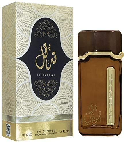 TEDALLAL parfum 100ML Oosterse Arabische Eau de Parfum, een parfum van hoge kwaliteit OPMERKINGEN: jasmijn, hout, muskus en oudh, kruiden, harsen, exotische houtsoorten en essentiële oliën en rokerige parfum