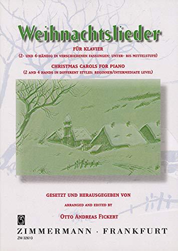 Weihnachtslieder: Klavier (2- und 4-händig in verschiedenen Fassungen).