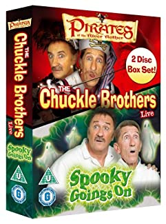 The Chuckle Brothers Box Set - Pirates Of The River Rother / Spooky Goings On