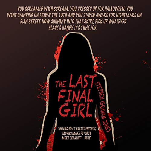 The Last Final Girl audiobook cover art