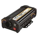 Vechline Inverter Onda Quadra 600W 12V 220V USB Certificato per Camper