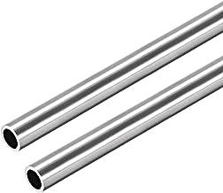 1/mtr. poli Tube Carr/é 20/x 20/x 1,5/mm Grain 240 1.4301 + 0//-3/mm B /& T m/étal en acier inoxydable V2/A dans longueurs /à env