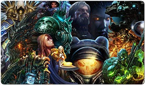 248488 - World of Warcraft-Brettspiel MTG Spielmatte Tischmatte MTG playmat Größe 60x35cm Mousepad Spielmatte für TCG Magic The Gathering