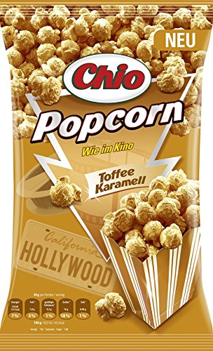 Chio Ready-Made Popcorn Toffee Karamell, (0.12 kg)