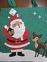 Flying Tigerフライングタイガークリスマスサンタクロースと動物たちエコバックトートバック北欧雑貨