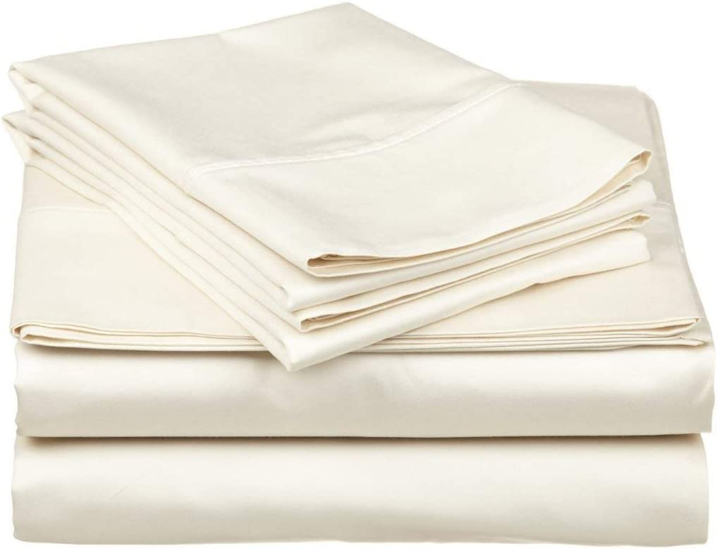 Colorado Springs Mall L-Mart 100% Cotton Sheets 6 PCs Spasm price Sheet for Bed Size Queen Set She