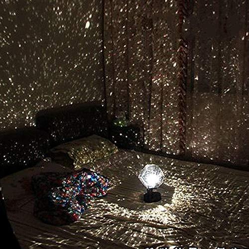 Proiettore a LED Romantico Planetario Star Proiettore Cosmos Light Night,Sky Lamp Camera da letto per bambini Decorazione per la casa