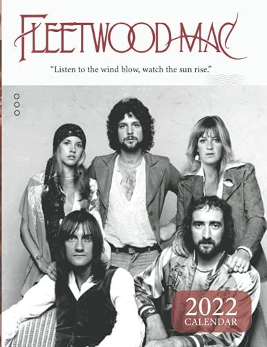 Fleetwood Mac 2022 Calendar: Perfect Mini Calendar 2022 18-month from Jul 2021 to Dec 2022 in mini size 8.5x11
