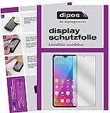 dipos I 2X Schutzfolie klar kompatibel mit Gionee Steel 5 Folie Bildschirmschutzfolie (bewusst Kleiner als das Glas, da Dieses gewölbt ist)