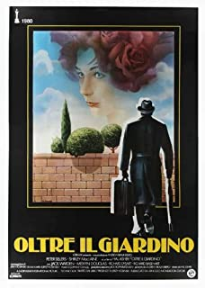 Being There Movie Poster (27 x 40 Inches - 69cm x 102cm) (1980) Italian Style B -(Peter Sellers)(Shirley MacLaine)(Melvyn Douglas)(Jack Warden)(Richard Dysart)(Richard Basehart)
