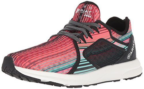 Ariat Women's Fuse Athletic Shoe, Southwestern Serape, 9 B US