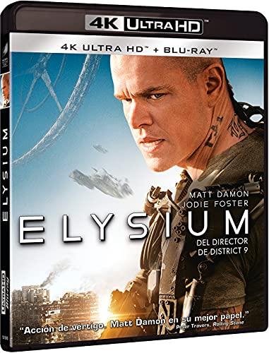 Elysium (4K UHD + Blu-Ray) [Blu-ray]