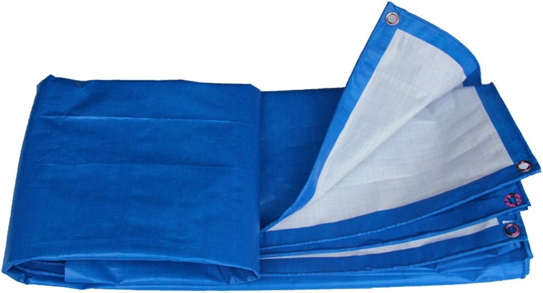 DYFYMXOutdoor Ausrüstung Verdicken Sie Plane Plane Plane Wasserdichte Plane, die Mattenschutzcreme des Sonnenschutzes Anti-Frostschutz, blau häutet @ B07K7M9MJF  Angemessener Preis d24259