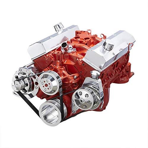 Chevy Small Bock Serpentine Conversion Kit - Alternator & Power Steering Applications