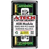 A-Tech 4GB DDR2 800MHz SODIMM PC2-6400 1.8V...