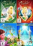 TinkerBell 1 + 2 + 3 + 4 Feen-Quadrilogy (Walt Disney) [4er DVD-Set]