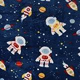 SCHÖNER LEBEN. Wellness Fleece Astronaut Weltall Planeten