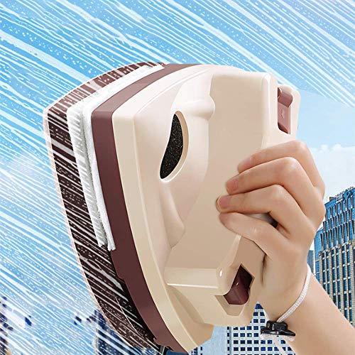 LZH FILTER Nettoyant Magnétique pour Vitres, Essuie-Glace de Maison Outil de Nettoyage de Verre, Double-Face Magnétique Réglable, Brosse en Verre Outils de Nettoyage (5-25 mm)