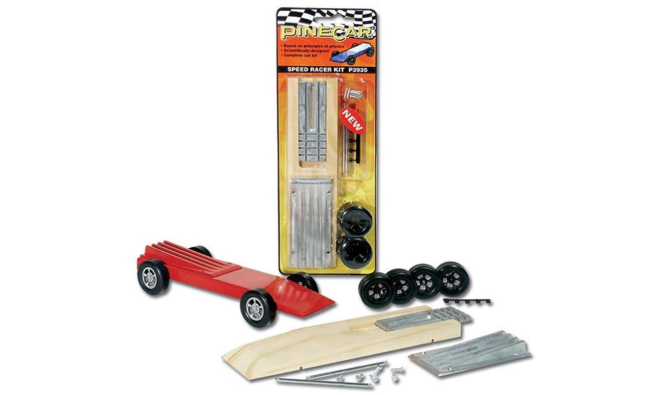 Woodland Scenics Pine Car Derby Racer Kit, Speed