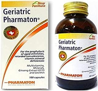 Geriatric PHARMATON Minerals-Ginseng Multi Vitamins Prophylaxis ELDERY 100 Capsules